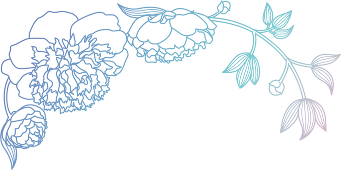 Flower decoration peony 2