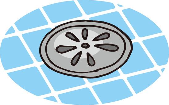 Drainage grooves (bathroom / clean)