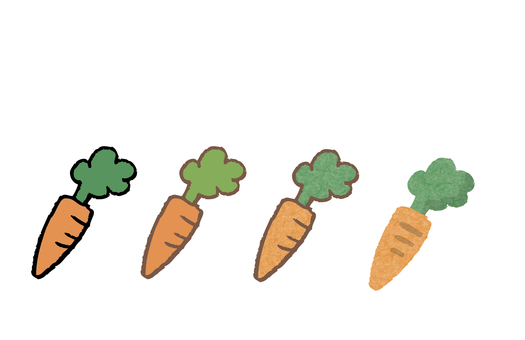 Various carrots