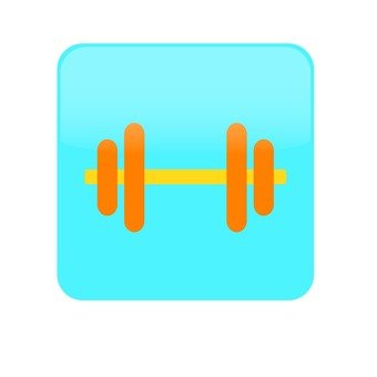Weight lifting _ blue