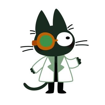 Cat researcher