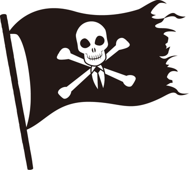 Business pirate flag