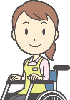 Home helper woman-257-bust