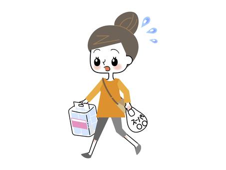 Shopping, women, woman