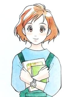 Books and ladies