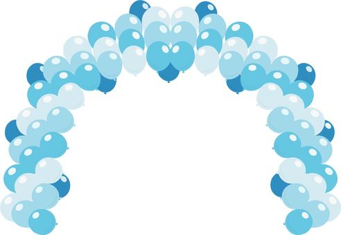 Balloon Arch Blue