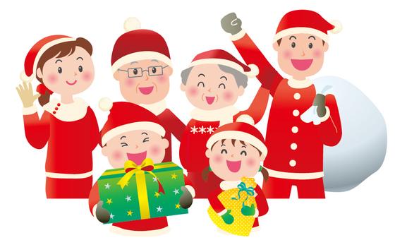 Genki family Christmas 1
