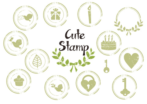 Cute stamp collection