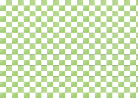 Checkered pattern yellowish green