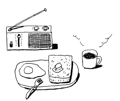 Radio and breakfast