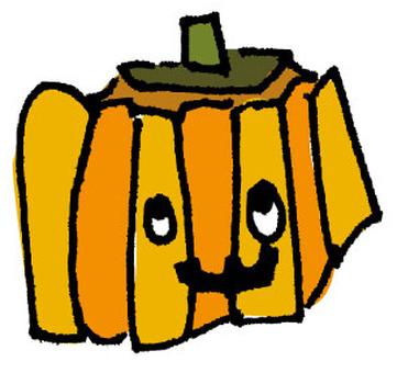Haunted pumpkin
