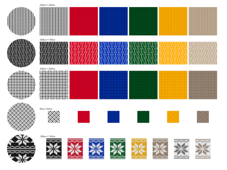 Swatch Knit Pattern Collection