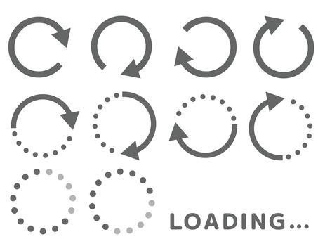 Loading loading arrow set
