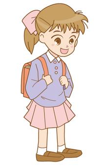 Randoser elementary school girl _ girl