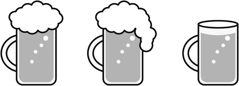 ビール3種類グレー(お好みをどうぞ)