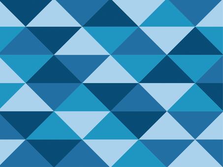 Texture triangular mosaic blue ocean