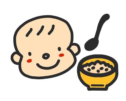 아기 이유식 스푼
