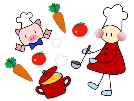 小人_cooking