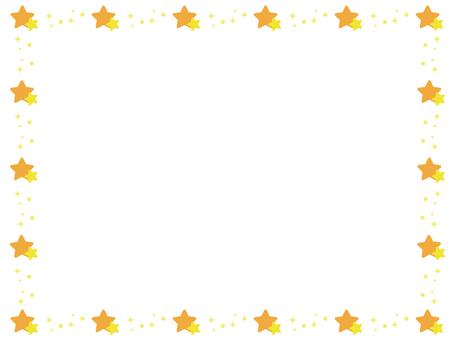 Star decorative frame 5