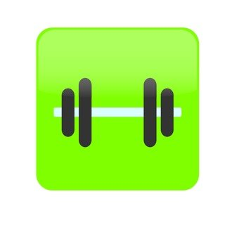 Weight lifting _ green