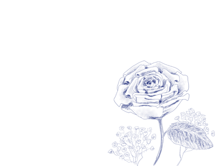Rose pottery