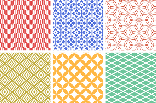 Japanese traditional pattern Japanese pattern for Swatch