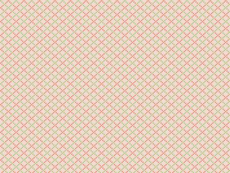 니트 패턴 아가일 - 아이보리