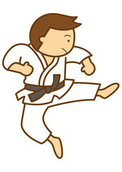 Karate 1 - 4 c