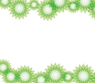 Flower pattern _ green 1