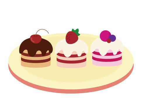 Moose cake set