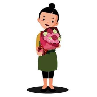 꽃집의 점원 1