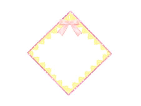 다이아몬드 프레임 처녀 프레임 만