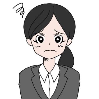 Suit women (difficulties)