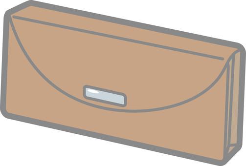 Long wallet (brown)