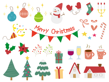 Christmas handwritten illustration