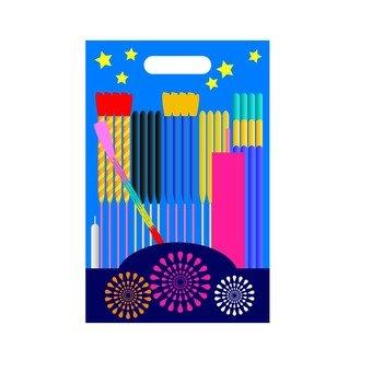 Summer fun poetry - fireworks set