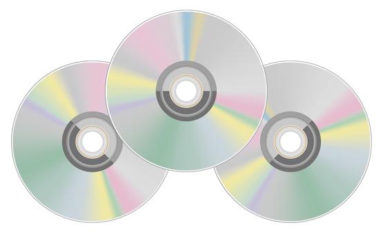 CD DVD 3 개