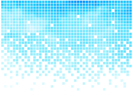 Watercolor tile [1] cyan