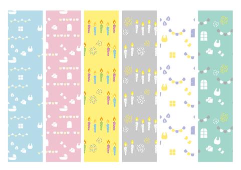 出産祝いパターン