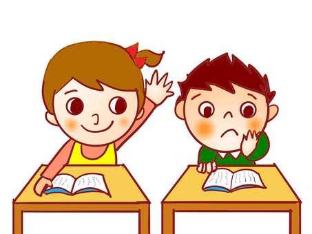 學習課兒童學校兄弟學校班