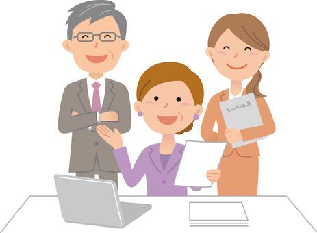 70615. Company employee, conversation 2