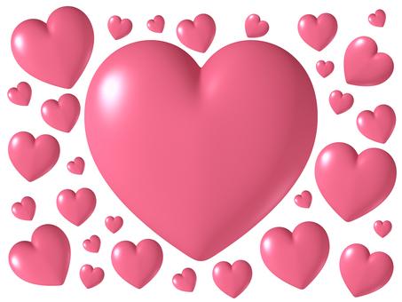 Three-dimensional heart