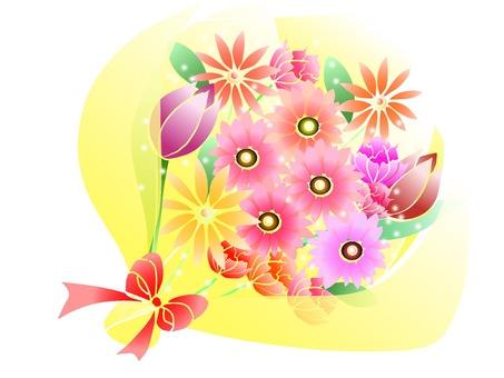 꽃다발 (노란색)