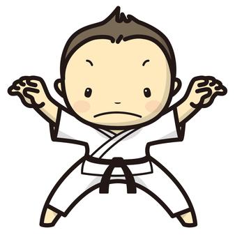 Judo man