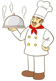 외국인 바람 요리사