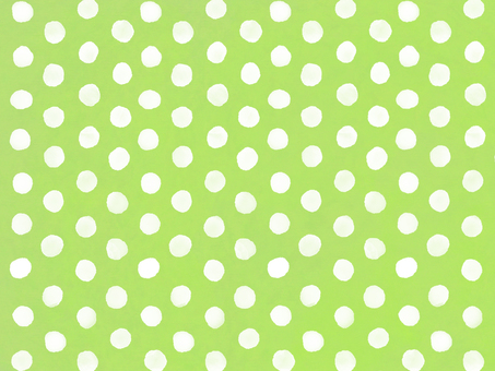 Watercolor dots background green