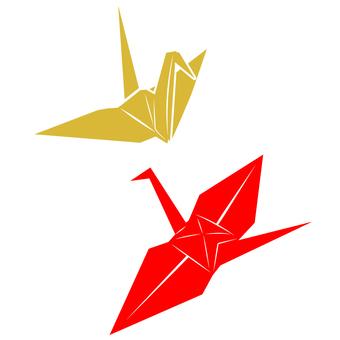 和素材(折鶴)