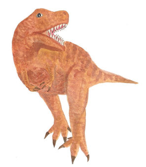 恐竜(ティラノザウルス)