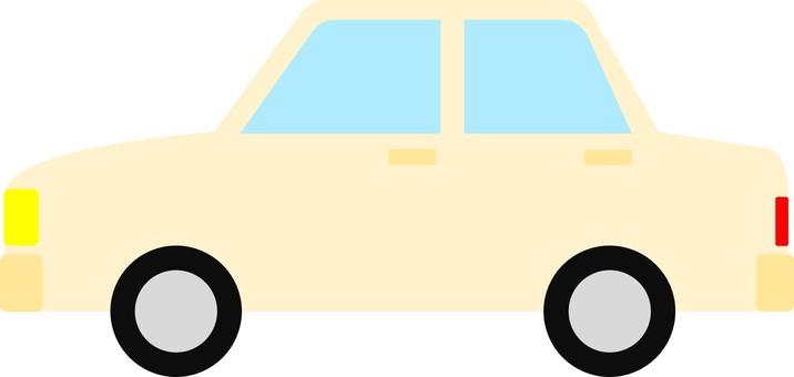 Automobile sedan ③