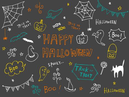 Handwritten Halloween material 1